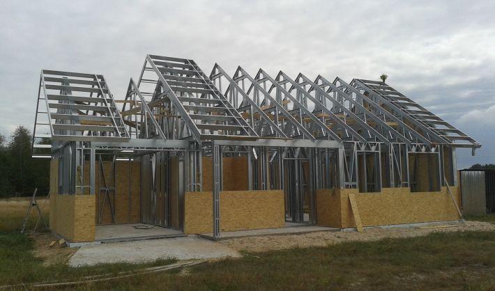 Заказать строительство по ЛСТК технологии в Украине| «Инстил Украина»  Стальные Здания